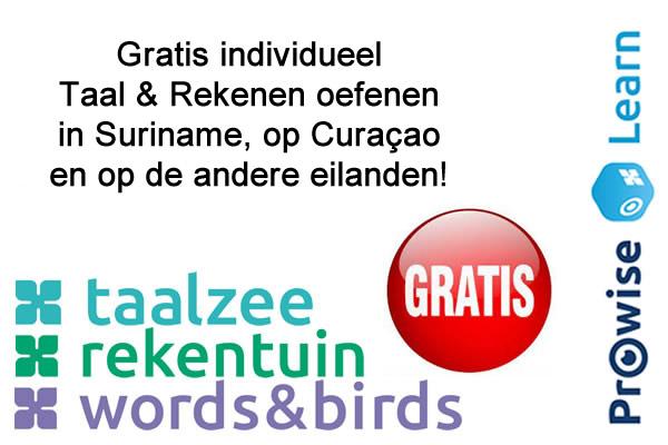Rekenen/Taal Suriname - Curaçao